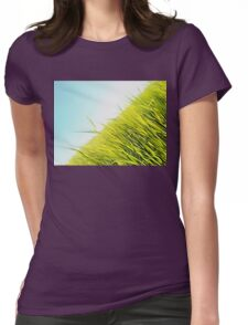 green wheat Womens Fitted T-Shirt