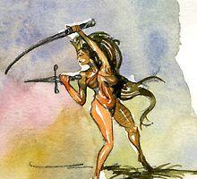 Sword Play by casa