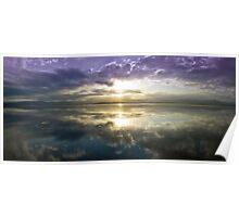 Lake Illawarra Sunset Poster