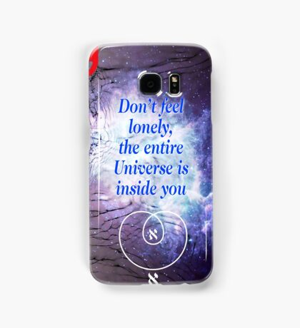 Rumi's Inspirational Quote Samsung Galaxy Case/Skin