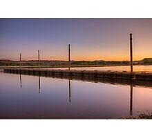 Dockset Photographic Print