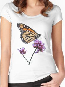 Monarch tee2/prints/products Women's Fitted Scoop T-Shirt