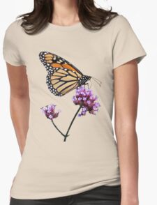 Monarch tee2/prints/products Womens Fitted T-Shirt