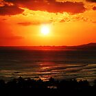 Sunset in Honolulu by jlv-