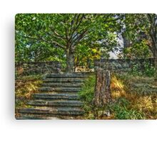 The Path to Lambert Castle Lookout Tower Canvas Print