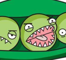 Killer Pea Pods Sticker