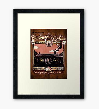 Buckner's Cabin Framed Print