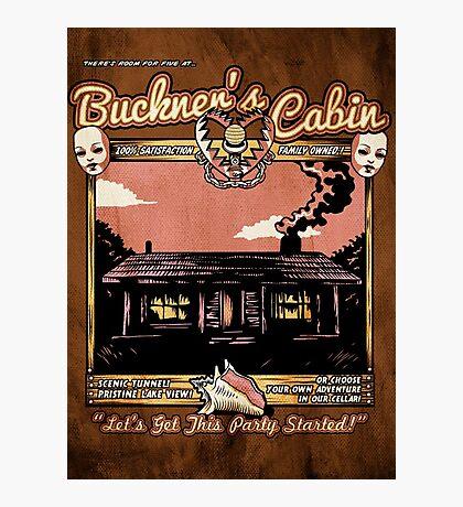 Buckner's Cabin Photographic Print