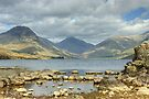 Wastwater And The Wasdale Fells by Jamie  Green