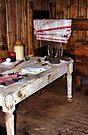 Explorer's Hut Interior #2 by Carole-Anne