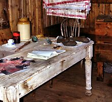 Explorer's Hut Interior #2 by Carole-Anne
