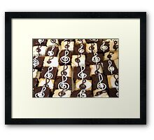 """""""Sing a Song of Cake"""" Framed Print"""