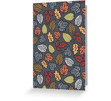 autumn pattern Greeting Card
