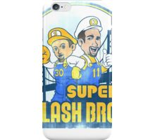Super Splash Bros  iPhone Case/Skin