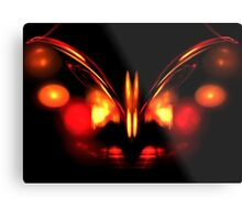 Ruby Wings Metal Print