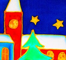 Joyful Christmas Season Sticker
