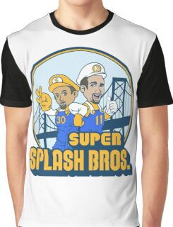 Super Splash Bros  Graphic T-Shirt