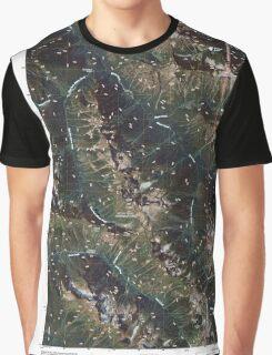 USGS Topo Map Washington State WA Mount Sefrit 20110425 TM Graphic T-Shirt