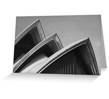 Sydney Opera House Sails Greeting Card