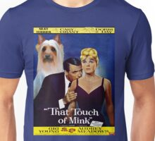 Silky Terrier Art - That Touch of Mink Movie Poster Unisex T-Shirt