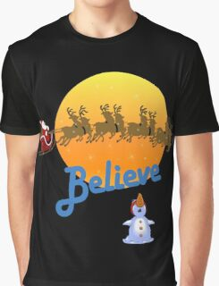 Christmas - Believe in Santa Claus Graphic T-Shirt