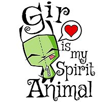 Gir is my Spirit Animal Photographic Print