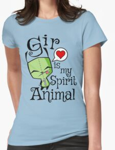 Gir is my Spirit Animal Womens Fitted T-Shirt