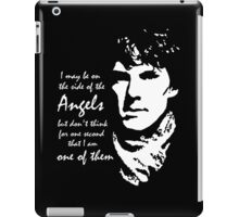 Sherlock - Angels iPad Case/Skin