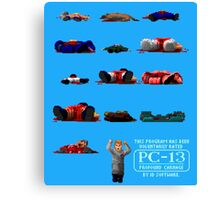 Rated PC-13 Canvas Print