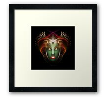 FACE FTE Framed Print