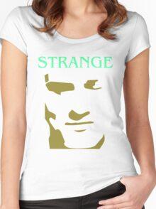 Morrissey Smiths Strange strangeways cartoon Women's Fitted Scoop T-Shirt