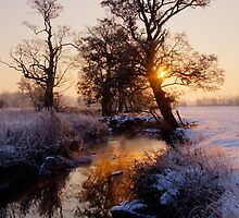 River Brett sunrise by Christopher Cullen