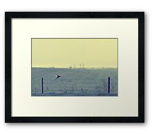 Without A Word.... Framed Print