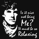 Sherlock - Relaxing by PurpleSparklies