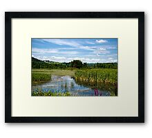 The Perfect Summer Day Framed Print