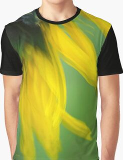 Sunflower Abstract Graphic T-Shirt