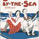 BANGOR BY THE SEA (vintage illustration) by ART INSPIRED BY MUSIC