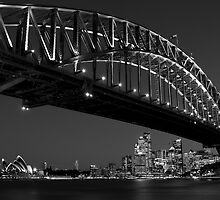 Sydney Harbour Bridge, Australia by Justine Wright