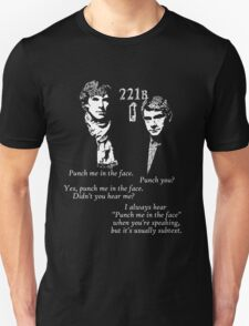221B Punch me T-Shirt