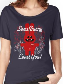 SOME BUNNY LOVES YOU! Women's Relaxed Fit T-Shirt