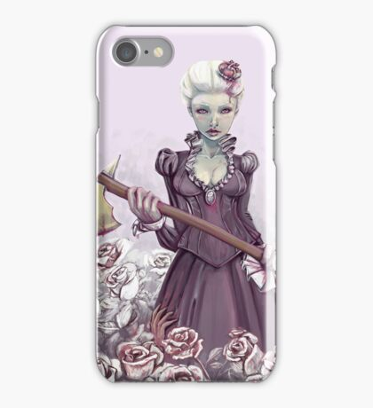 Painting the Roses Red iPhone Case/Skin