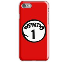 Weirdo 1 iPhone Case/Skin