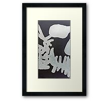 Rorshak industries  Framed Print