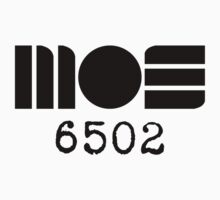 MOS 6502 logo by Phil South