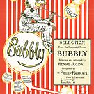 BUBBLY (vintage illustration) by ART INSPIRED BY MUSIC