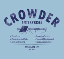 Crowder Enterprises (Navy Distressed) by pixhunter