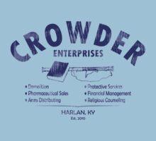 Crowder Enterprises (Navy Distressed) by pixhunter