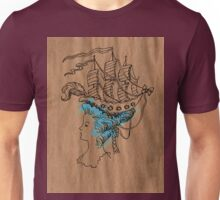 I'm on a boat Unisex T-Shirt