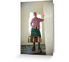 Hawaiian Scotsman Greeting Card