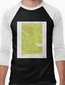 USGS Topo Map Washington State WA Bogachiel Peak 240149 1950 24000 Men's Baseball ¾ T-Shirt